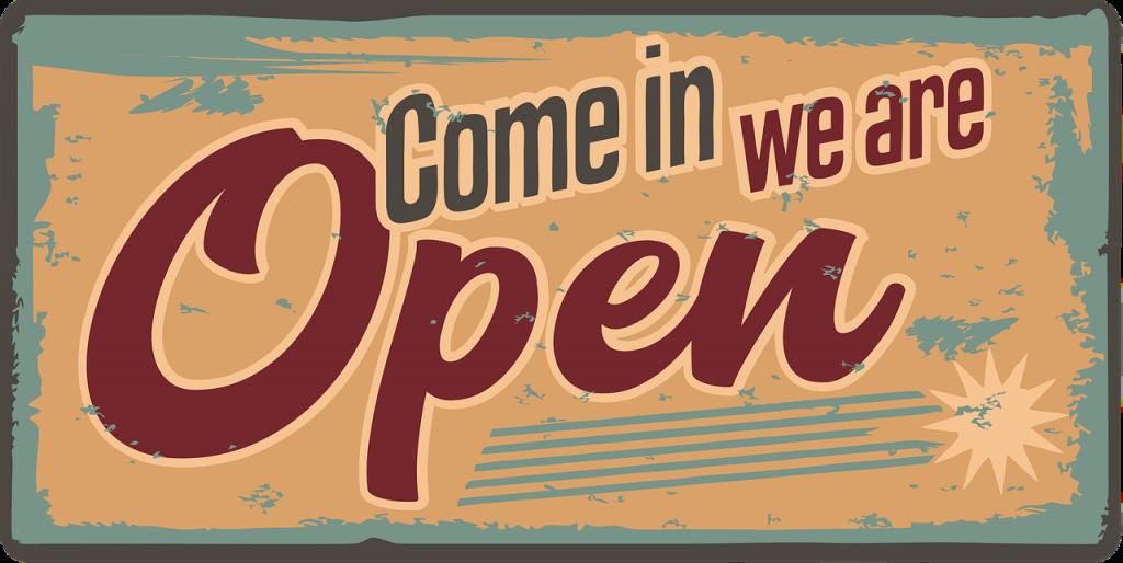 open ad